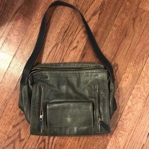 See by Chloe Olive Green Leather Purse